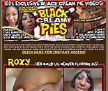 Black Creamy Pies